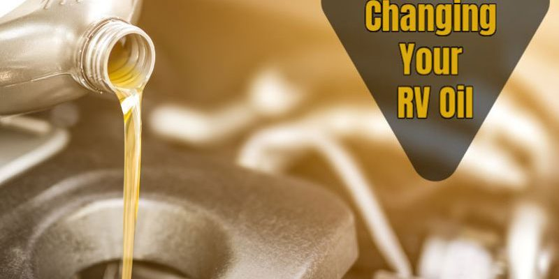 How long can an RV go between oil changes?