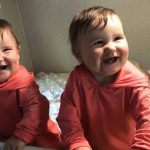Can children less than 2 years old travel in car seats in an RV?