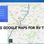 Can I use Google Maps for my RV trip?