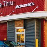 Can I drive the rental RV through McDonald's drive-through?