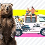 What safety precautions should I take in an RV to avoid wild animals?