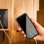 How do I charge my electronic devices during RV Trip?