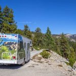 Can I drive a rental RV through National Parks?