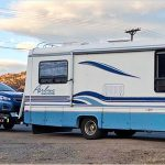 Can I tow a car behind my RV Rental?