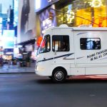 Can I visit big cities on my RV rental?