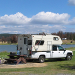 What kind of gas does rental RV use?