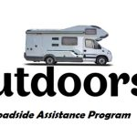 What phone number should I call for Outdoorsy Roadside assistance?