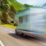 What is the average speed I can drive an RV at?