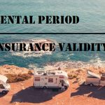 What does the Rental RV insurance begin and end?