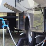 How do I connect my Rental RV to fresh water supply at RV Park?