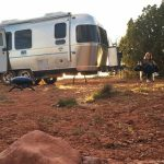 What is Dry camping?