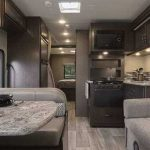 Is there a cooking range in a rental RV?