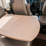 Is there a dining table in rental RV?