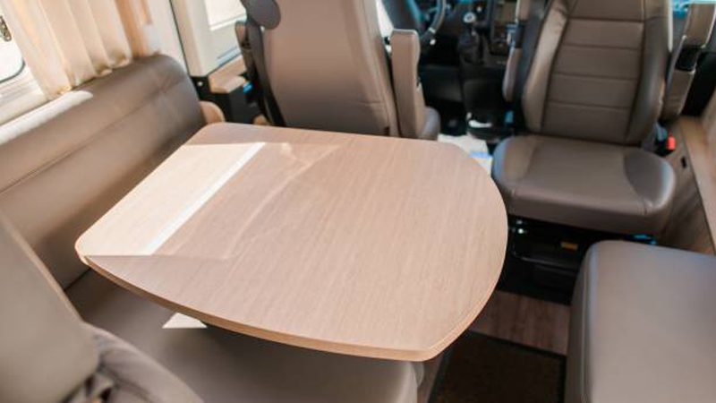 dining-table-in-rental-RV