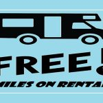 How many free miles do I for my Rental RV trip?