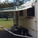 Can the rental RV's Awning get damaged during my rental?