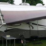 How expensive is to get the rental RV's Awning repaired?