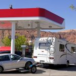 How many miles can I drive a rental RV for before it needs gas again?