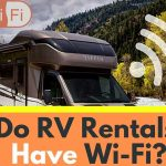 Do rental RVs have any Wifi?