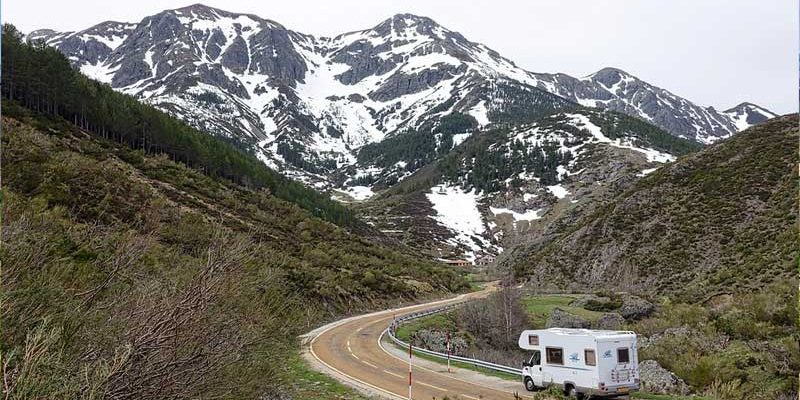 Who is responsible for paying road tolls during the Rental RV trip?