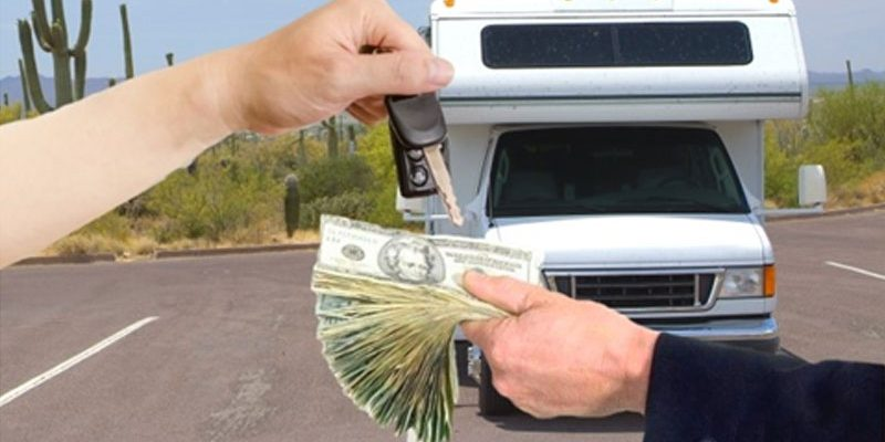 What happens to rental RV's security deposit if there is a damage dispute?
