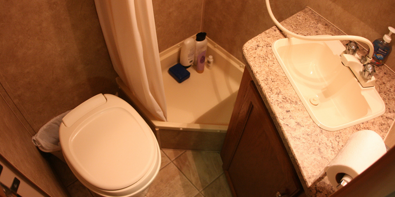 Does rental RV come with anything to keep the toilet holding tank bad odor?