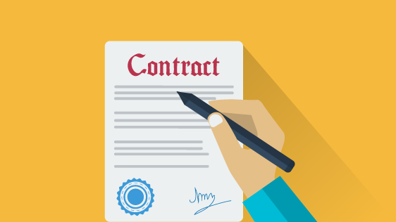 RV negotiation contract