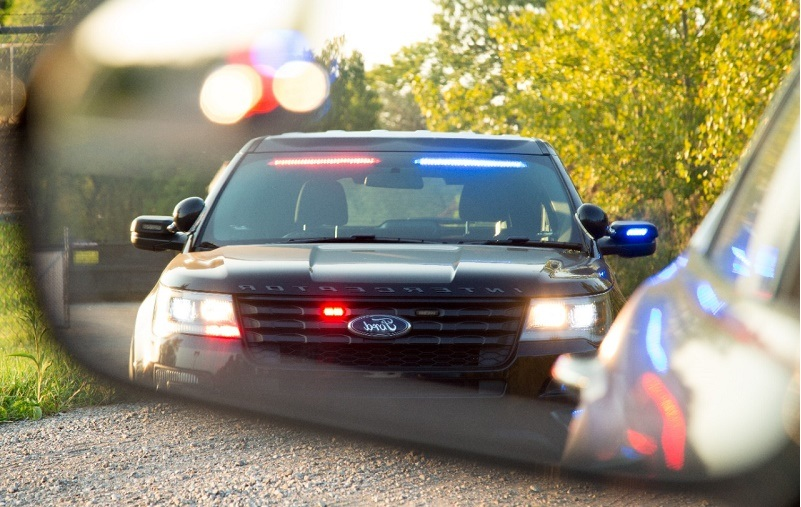 getting pulled over for alcohol in vehicle