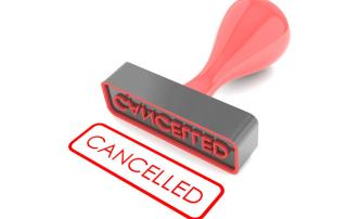 last-minute rv rental cancellations