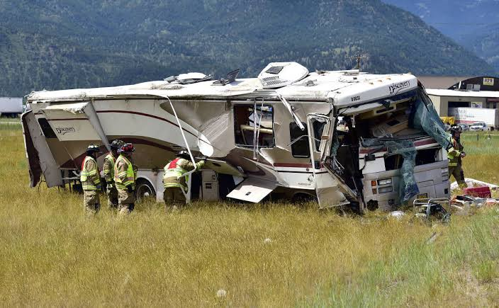 RV Accident - 10 things that can go wrong in an RV rental trip