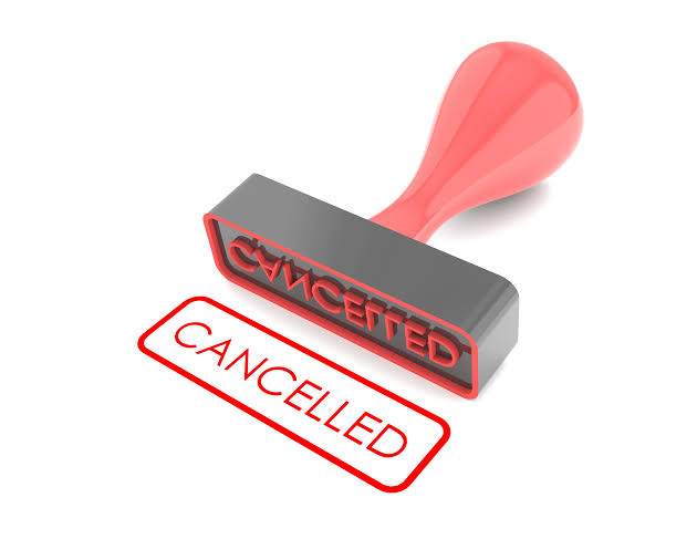 RV Cancellation due to damage by the previous renter