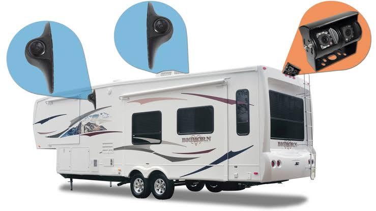 Answering RV rental questions - Backup camera