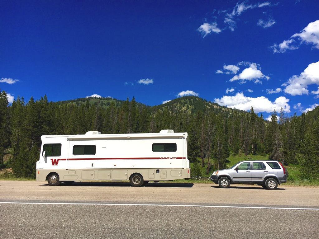 Towing - factors to consider before you rent an RV