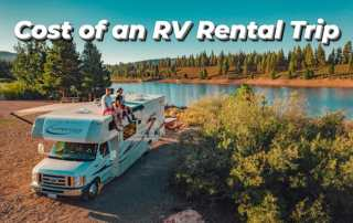 Cost of an RV rental trip