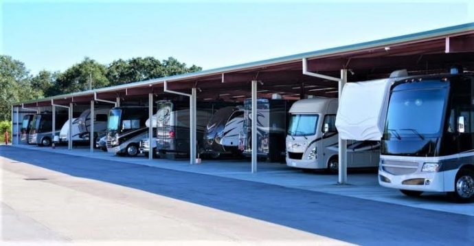 rv storage for buying an RV