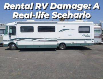 Rental RV Damage Costs: A Real-Life Scenario