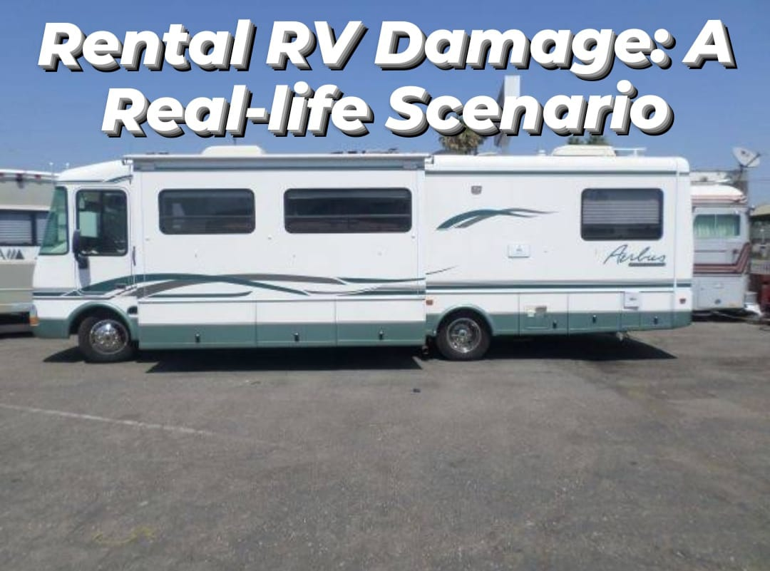 Rental RV Damage